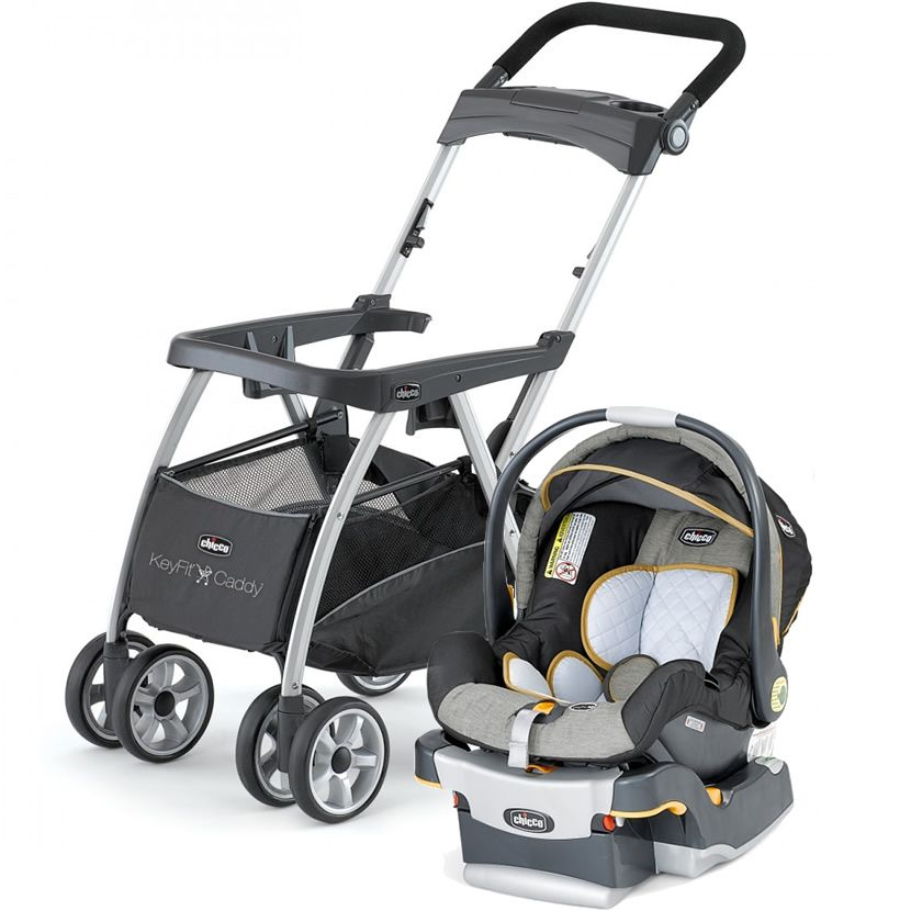 Chicco Keyfit Infant Car Seat with Caddy Stroller Combo