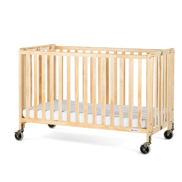 Full PREMIUM Wood Baby Crib - Delivery Only