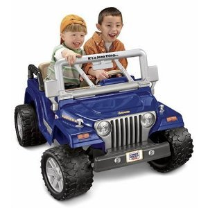 Power Wheels Jeep Rubicon (Delivery Only)